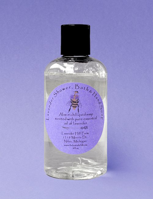 Lavender Shower, Bath & Hand Soap