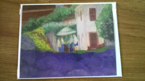 Lavender House Notecard