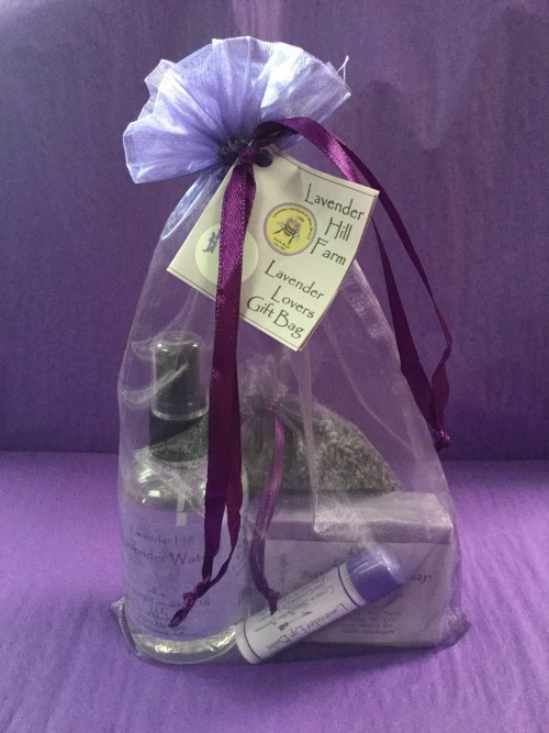 Lavender Lovers Gift Bag