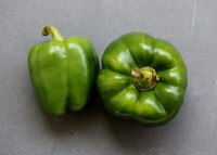 Green Peppers by the pound