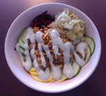Fermented Veggie Bowl at Vodoo Public House in Peru IN, featuring our krauts!