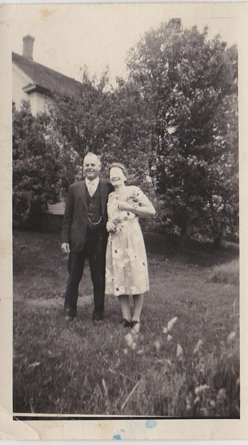 Harry and Gertrude Gilbert