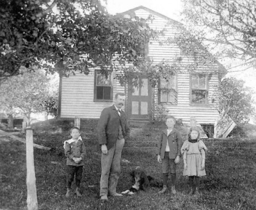 Charles S. Gilbert and children