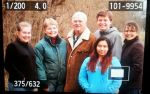 Daughter Barb, Grandkids-Carrie, Ben, Monica, and us