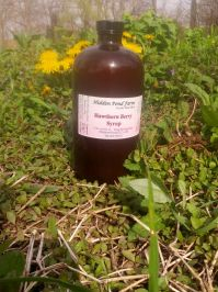 Abington Meadows Hawthorn Berry Syrup - 32 oz.