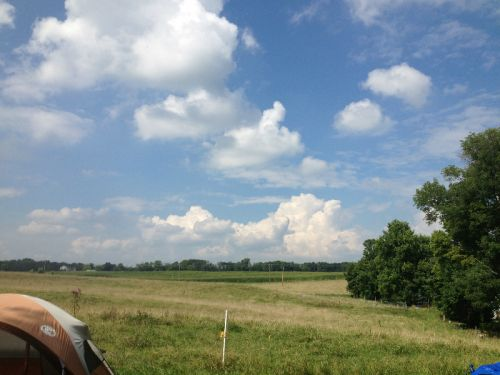 The summer of amazing cloud formations