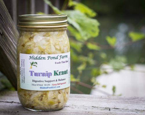 New Product: Turnip Kraut!  My new personal favorite