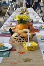 Beautiful tables for Feast at the Farm! 2014