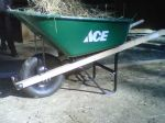 the new wheelbarrow