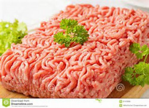Ground Pork, why not use instead ground beef