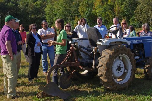 Jim McGovern Visits the Farm in 2011