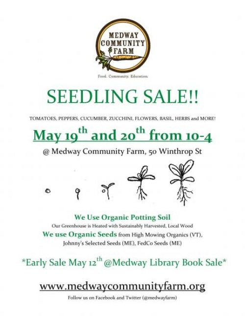2012 Seedling Sale Flier