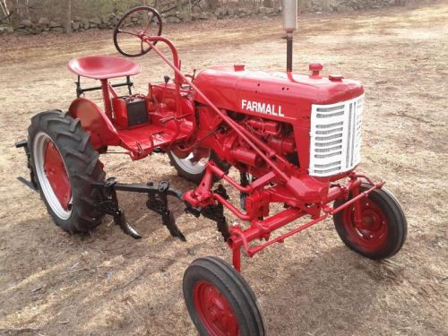 Newly Painted Farmall Cub