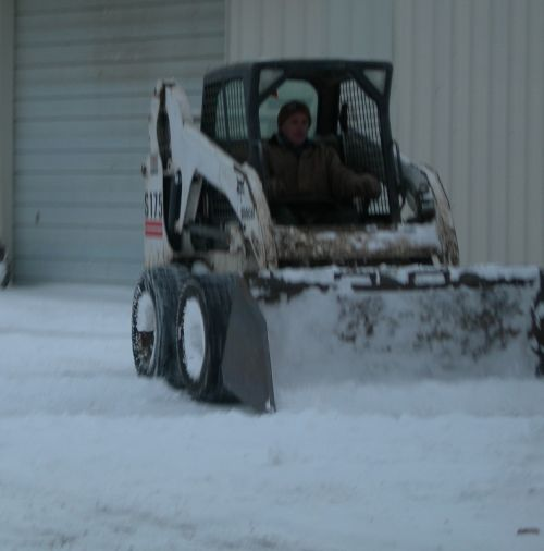 Bobcat loader - used for many purposes