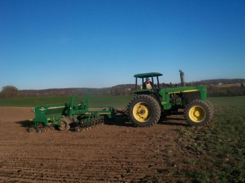 Fall Cover Crop Seeding