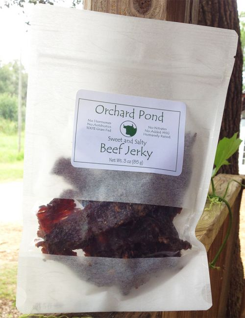 Sweet and Salty Beef Jerky