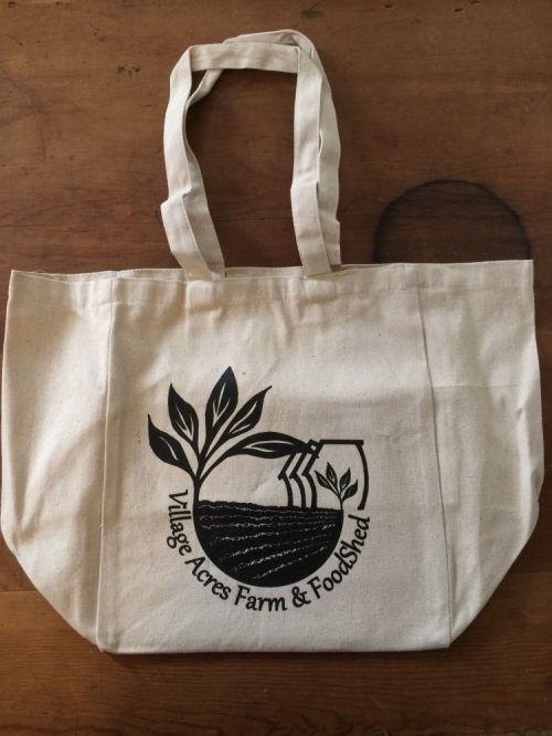Village Acres Farm Canvas Tote Bag