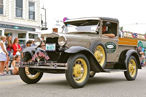 Wolfeboro 4th of July Parade 2015