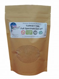 Turkey Tail (C. verisolor) Full-Spectrum Extract Powder