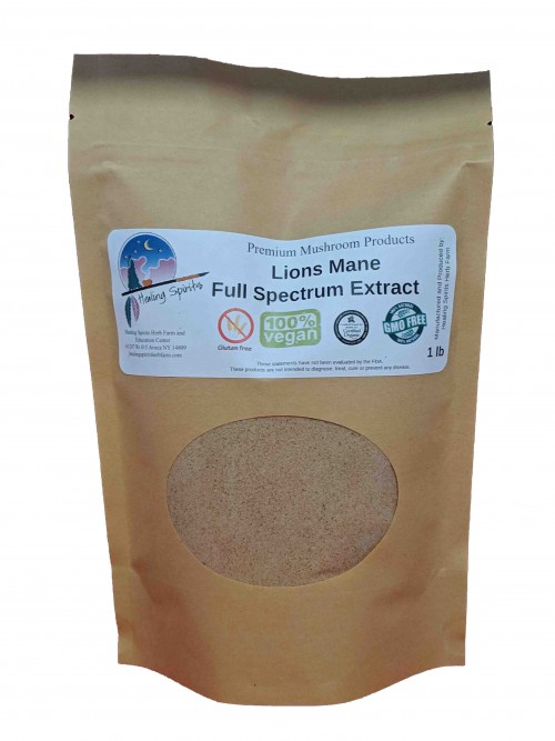 Lion's Mane (Hericium sp.) Full-Spectrum Extract Powder