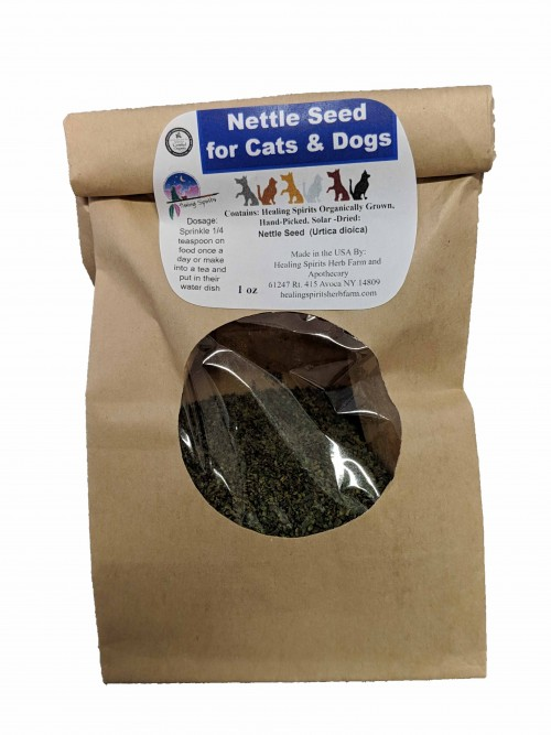 Nettle Seed for Cats & Dogs