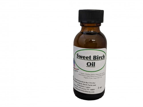 Sweet Birch Bark  Oil