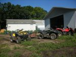 Four wheelers/major components of farm