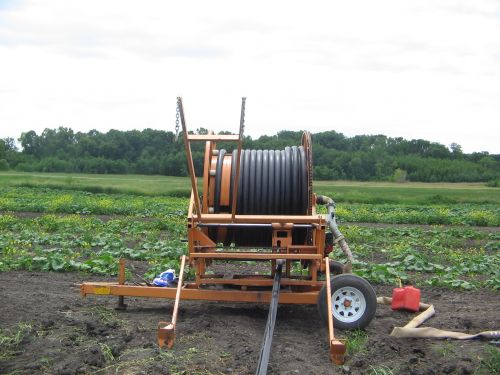 Ready to irrigate