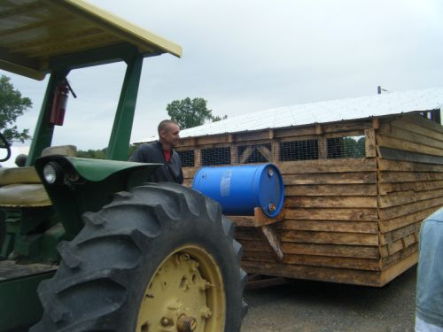 2012 New mobile chicken house