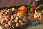 Potatoes on Market Table
