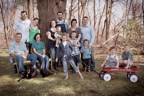The Anderson Family 2012