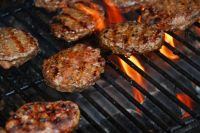 Farm Fresh Local Black Angus Steak Burgers