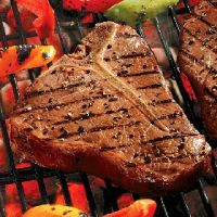Farm  Fresh  Local Black Angus  T-Bone Steak