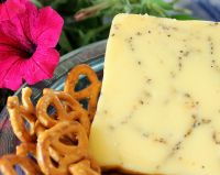 Raw Milk Peppercorn Cheddar