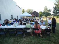 Adult Summer Harvest Dinner Saturday, August 18 @ 5pm
