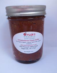 Unsweetened Apple Butter 8 oz Case of 3