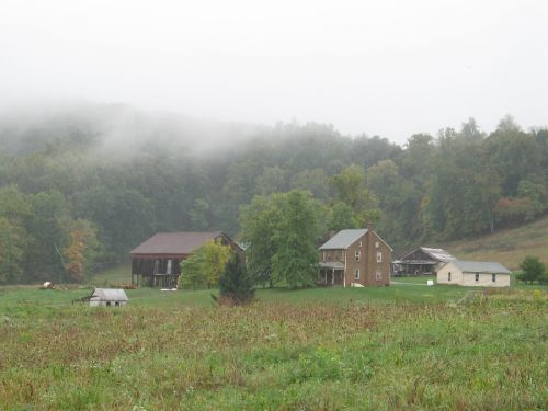 Our Farm During the Rain 09/30/10