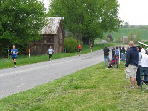 Gettysburg North-South Marathon May 1, 2011