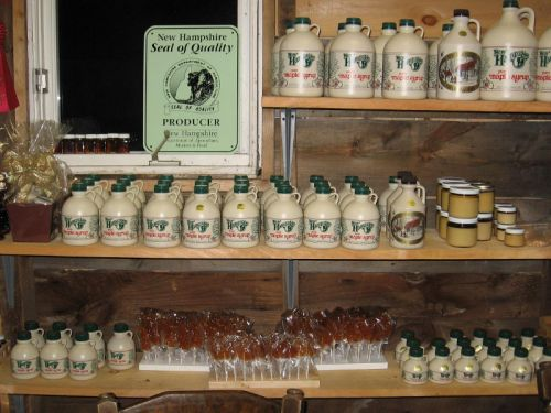 Shelves stocked for Maple Weekend