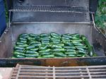 Jalapenos about to get smoked