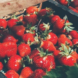 Strawberries from Mick Klug Farms