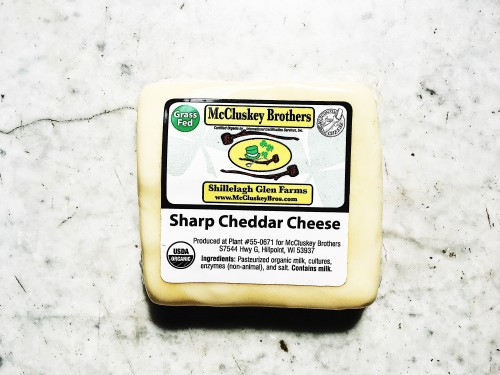 Cheese from McCluskey Brothers