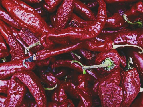 Dried Cheyenne Peppers