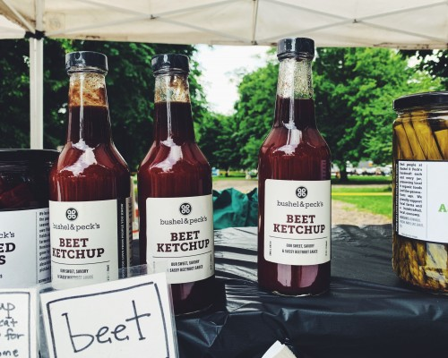 Beet Ketchup from Bushel & Pecks