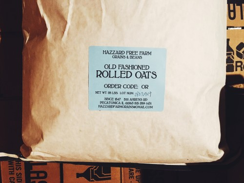 Grains: Old Fashioned Rolled Oats