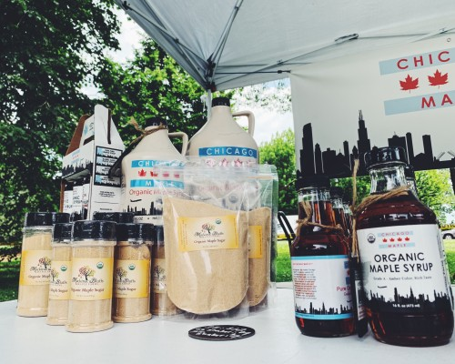 Maple Sugar & Syrup from Chicago Maple