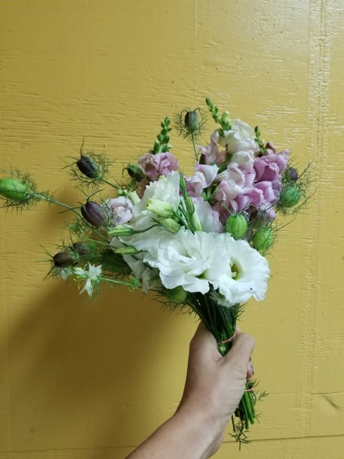 Gayle's Beautiful Fresh Cut flowers are available in the summer, we will make up a beautiful bouquet for you!