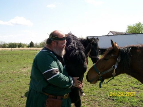 Baron Bill with the War Horses