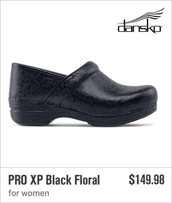 PRO XP Black Floral