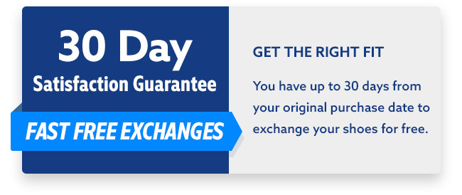 Free Exchanges up to 30 days!